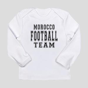 Morocco Football Team Long Sleeve Infant T-Shirt