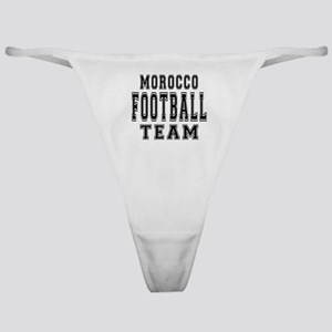 Morocco Football Team Classic Thong