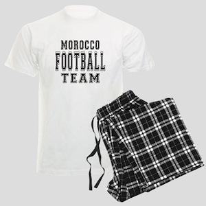 Morocco Football Team Men's Light Pajamas