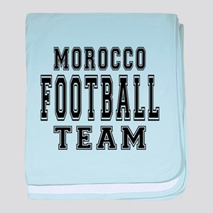 Morocco Football Team baby blanket
