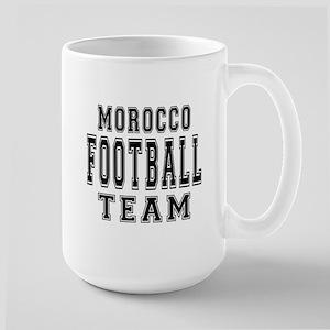 Morocco Football Team Large Mug
