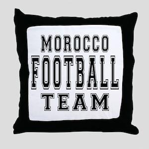 Morocco Football Team Throw Pillow