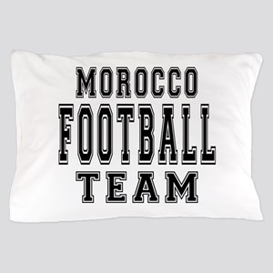 Morocco Football Team Pillow Case