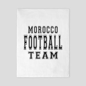 Morocco Football Team Twin Duvet