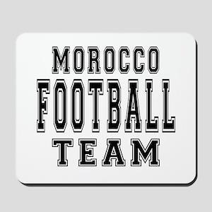 Morocco Football Team Mousepad