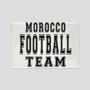 Morocco Football Team Rectangle Magnet