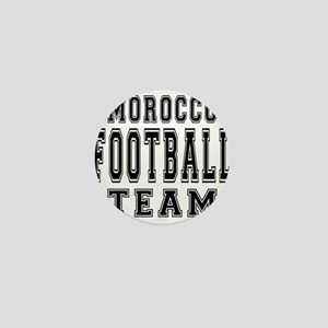 Morocco Football Team Mini Button