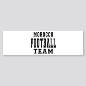 Morocco Football Team Sticker (Bumper)