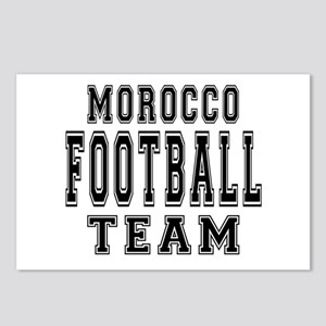 Morocco Football Team Postcards (Package of 8)