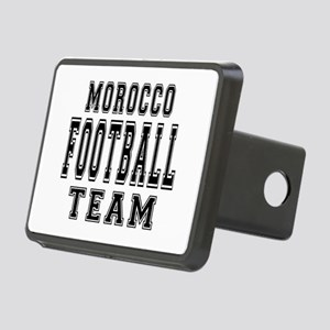 Morocco Football Team Rectangular Hitch Cover