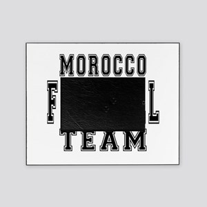 Morocco Football Team Picture Frame
