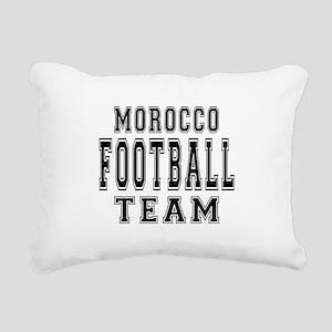 Morocco Football Team Rectangular Canvas Pillow
