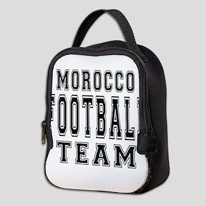 Morocco Football Team Neoprene Lunch Bag