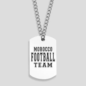 Morocco Football Team Dog Tags