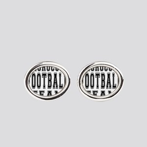 Morocco Football Team Oval Cufflinks