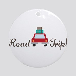 Road Trip Ornament (Round)