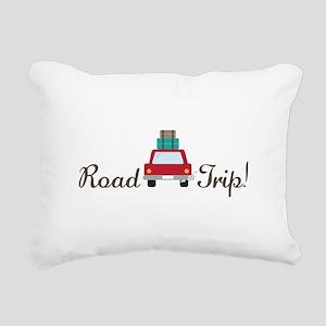 Road Trip Rectangular Canvas Pillow