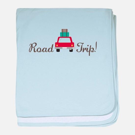 Road Trip baby blanket
