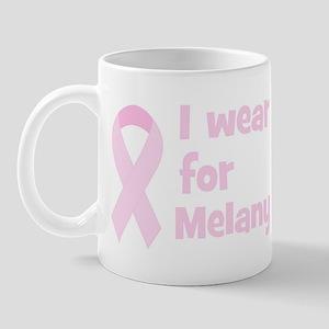 Wear pink for Melany Mug