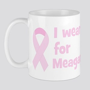 Wear pink for Meagan Mug