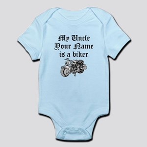 My Uncle Motorcycle Baby Clothes Accessories Cafepress