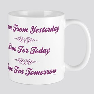 LEARN/LIVE/HOPE Mug