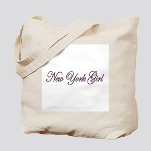 New York Girl Tote Bag
