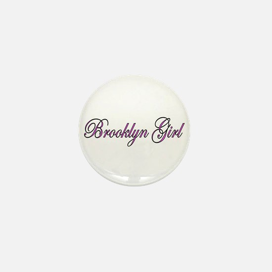 Brooklyn Girl Mini Button