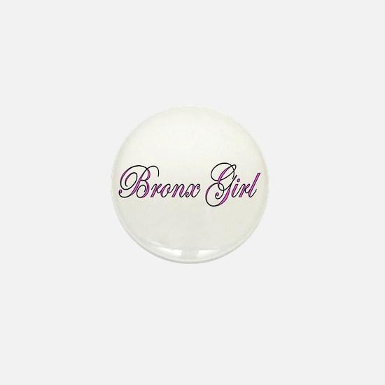 Bronx Girl Mini Button