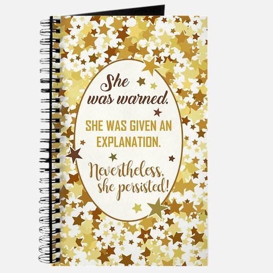 SHE WAS WARNED... Journal