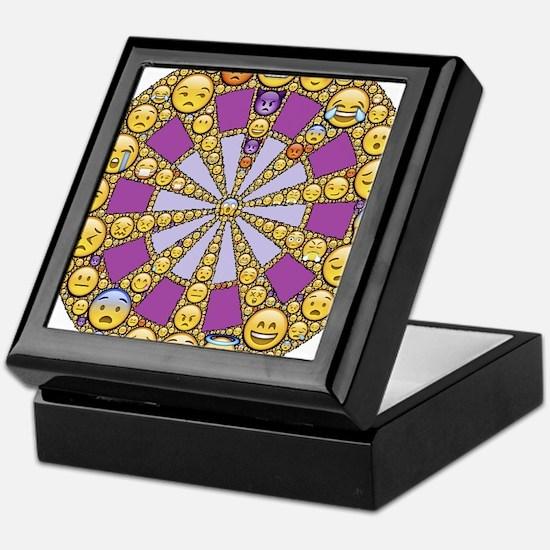 Circle of Emotions Keepsake Box