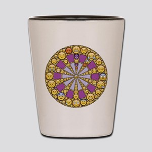 Circle of Emotions Shot Glass