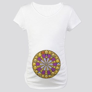 Circle of Emotions Maternity T-Shirt