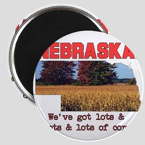 Nebraska . . . We've Got Lots Magnet
