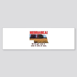 Nebraska . . . We've Got Lots Bumper Sticker