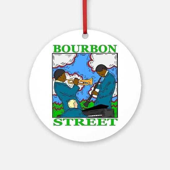 Bourbon Street Ornament (Round)