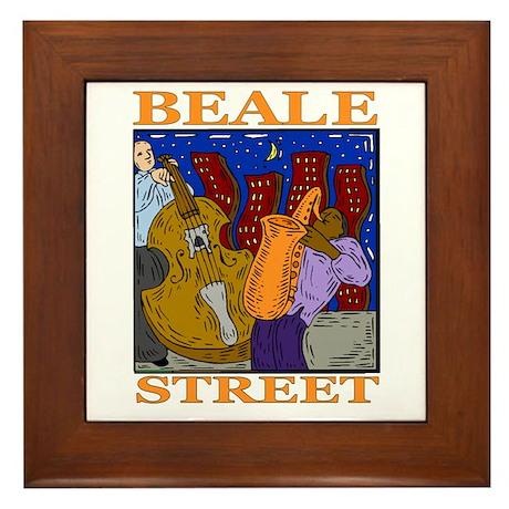 Beale Street Framed Tile