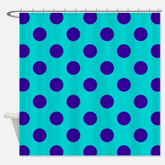 Unique Summer polka dots Shower Curtain