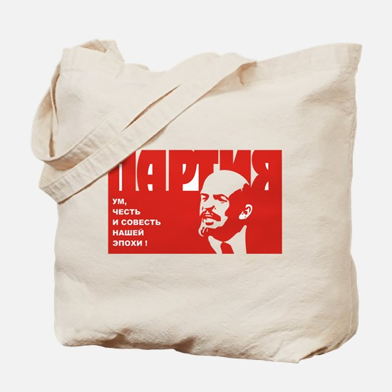 Partiya Plakat Tote Bag