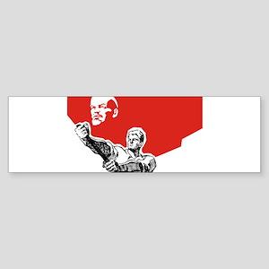 Lenin Plakat Bumper Sticker