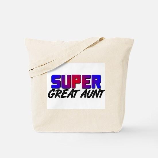 SUPER GREAT AUNT Tote Bag