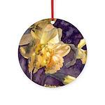 Moonlight Daffodils Ornament (Round)