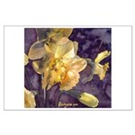 Moonlight Daffodils Large Poster