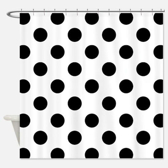 Unique Polka dots Shower Curtain