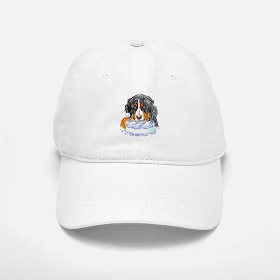 Bernese MT Dog Birthday Baseball Baseball Cap