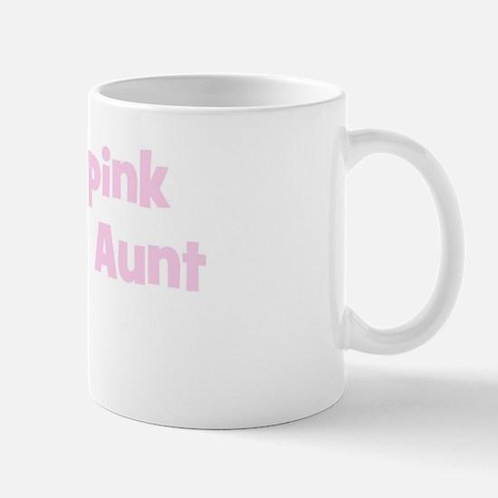 Aunt Julie (wear pink) Mug