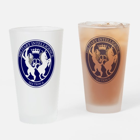 Funny Mi6 Drinking Glass