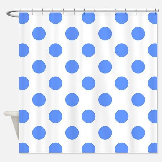 Cool Summer polka dots Shower Curtain