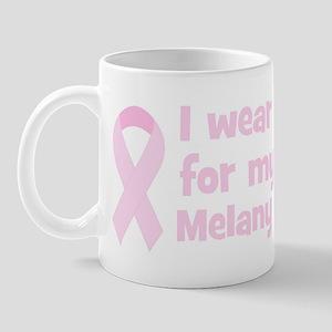 Aunt Melany (wear pink) Mug