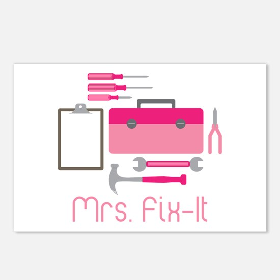 Mrs. Fix -it Postcards (Package of 8)